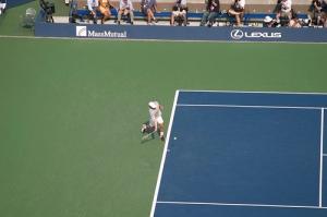Roddick's forehand