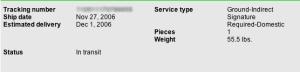 FedEx Tracking