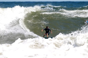 Another surfer