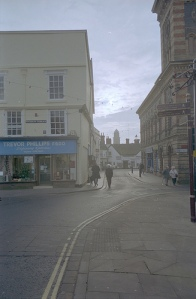 Southern end of Bridgnorth High St.