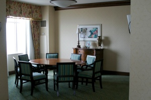 Presidential Suite - the conference room