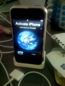 iPhone still waiting for activation