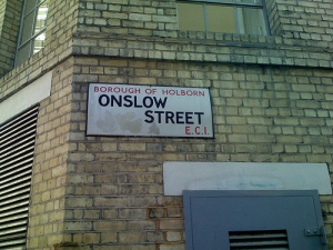 Programming street sign?