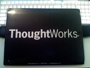 ThoughtWorks job offer package - front