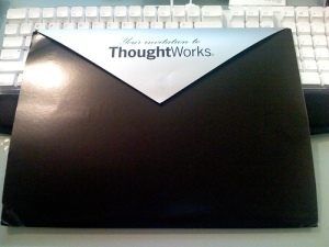 ThoughtWorks job offer package - back