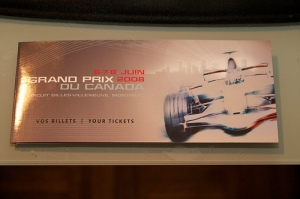 Canadian GP tickets - 1