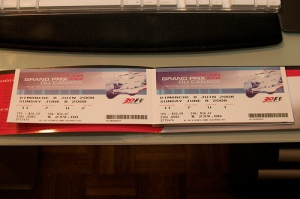 Canadian GP tickets - 3