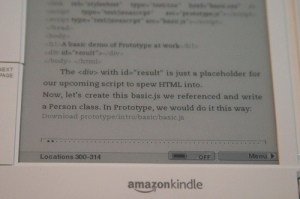 Tech book on Kindle - 2