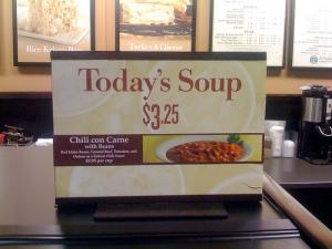 Chili soup?