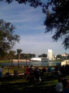 Shuttle launch viewing spot